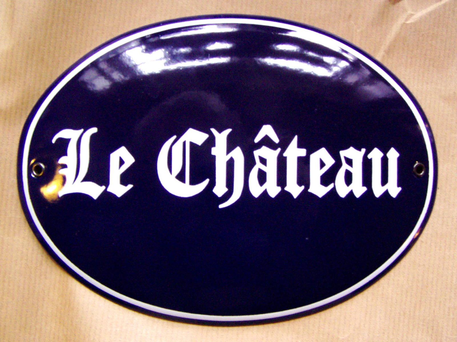 Husskilte-Le Chateau-web1600